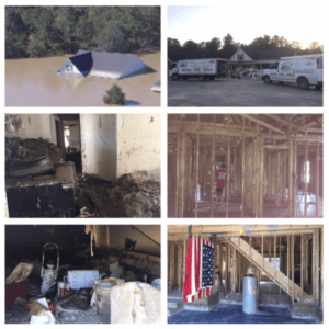 Flood and Fire restoration and Gleason Construction